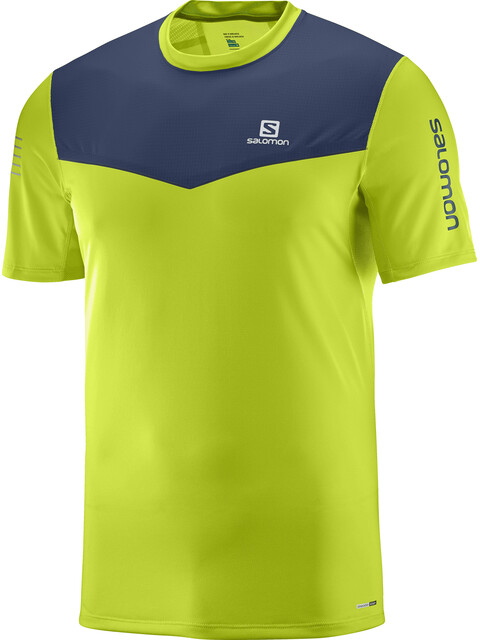 Salomon Fast Wing SS Tee Men acid lime